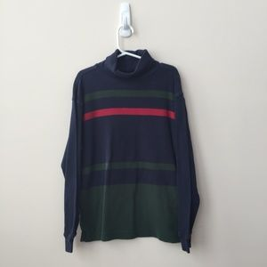 Gap Boy's Striped Turtleneck Size Medium (7-8)